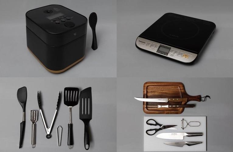 充実の調理器具2