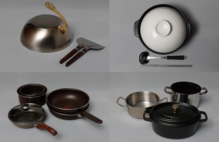 充実の調理器具4