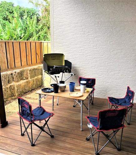 Let's enjoy Terrace BBQ !