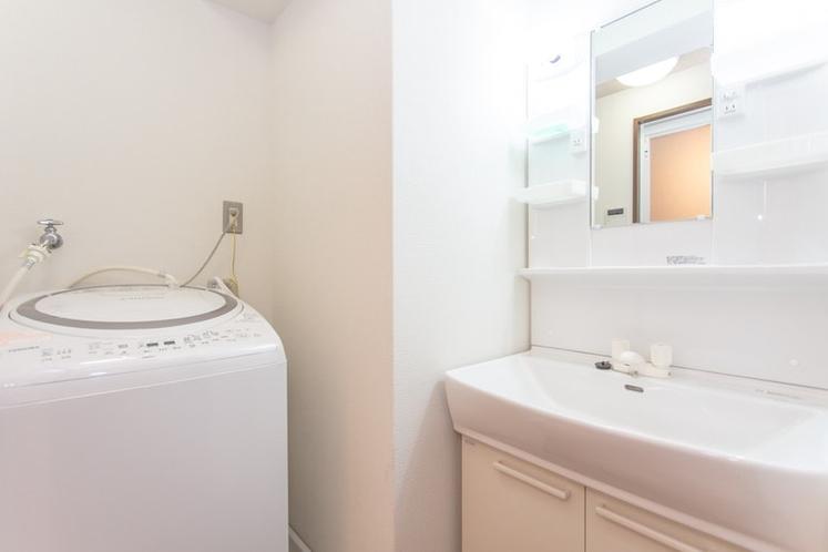 洗濯機用意しているます!長期滞在も大歓迎!