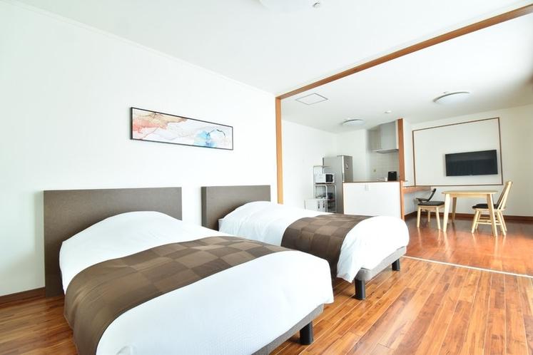 寝室A/ベット2台