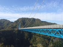 竜神大吊橋(茨城県常陸太田市)