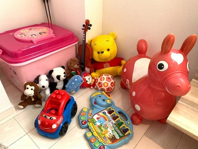 おもちゃも取り揃えています