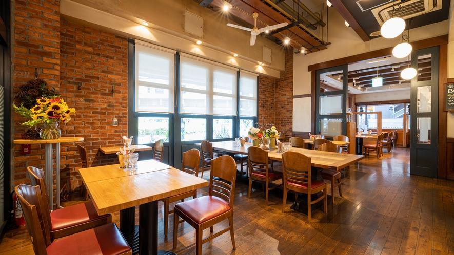 【朝食】1階レストラン