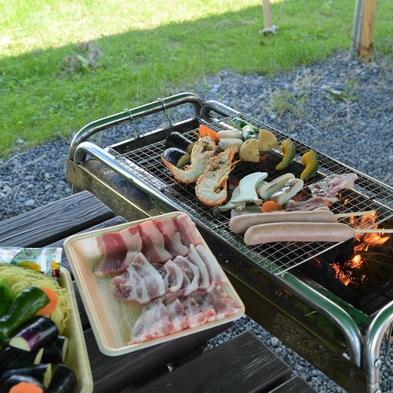 【2食付】厳選麦豚と海鮮のバーベキュープラン