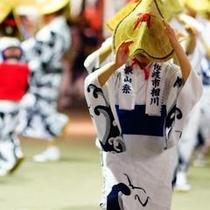 【イベント】7月 鉱山祭りおけさ流し
