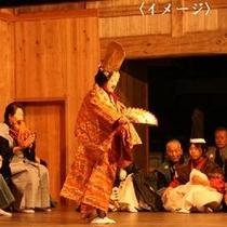 【イベント】佐渡は能の島。幽玄な薪能(大膳神社)