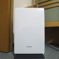 【客室】全客室に空気清浄器完備