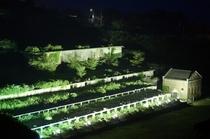 北沢浮遊選鉱場ライトアップ
