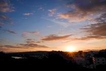 CASA BOTANIKSから眺める日の出