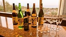 【マリアージュプラン】おすすめの日本酒6種類を、お料理にあったタイミングでお愉しみ頂けます。