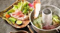 金目鯛のしゃぶしゃぶ:【旬味吟詠】選べるメイン料理 【特別膳】選べるメイン料理