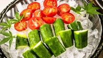 【ご朝食】新鮮野菜をたっぷりと・・・