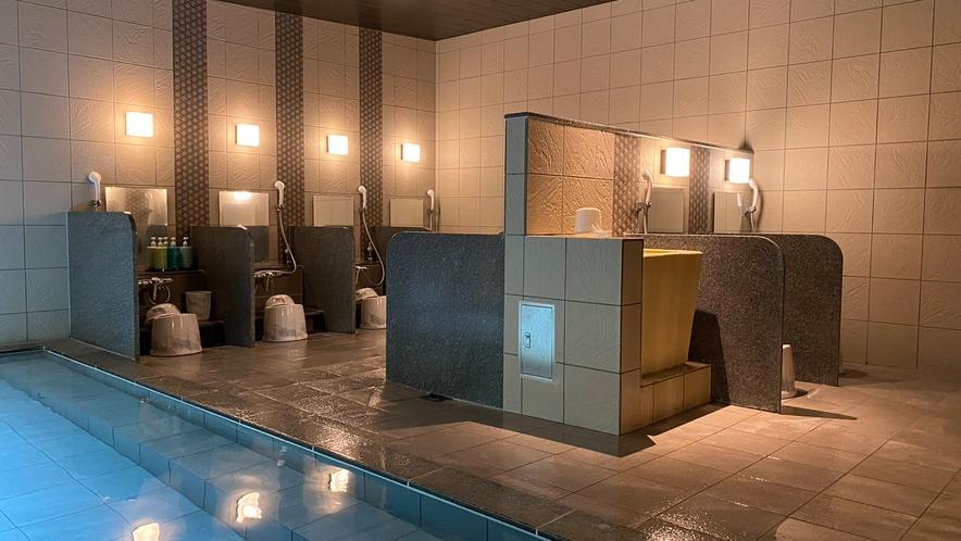 大浴場(女性) カランは9個ございます