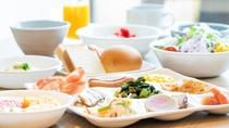 五島の食材を使用した朝食バイキング