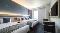 【オーシャントリプル】 ベッド幅100cm(シングルサイズ)/全室Wi-fi完備