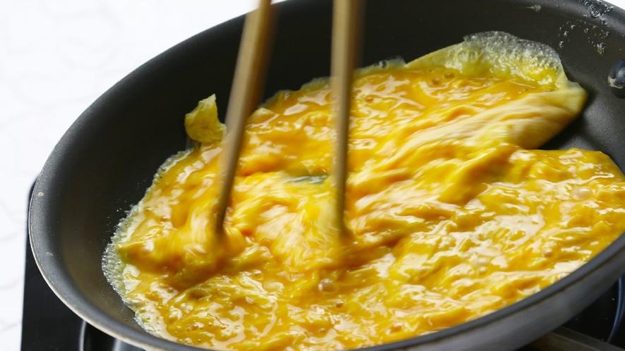 ライブキッチン卵焼き