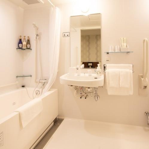 【客室】禁煙ユニバーサルツイン/トイレ・バスルーム