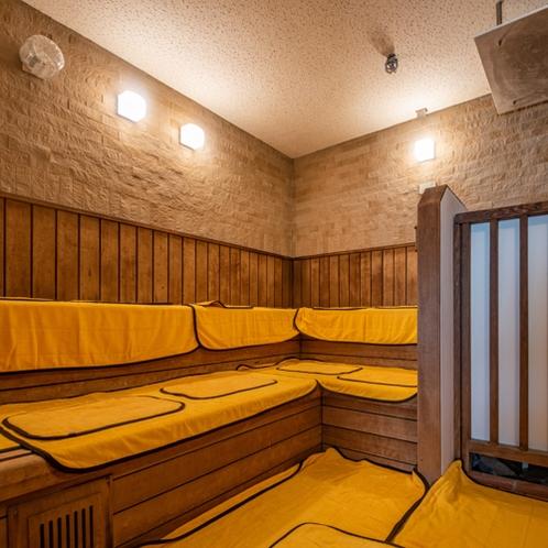 温泉:本館南大浴場「鏡花の湯」サウナ風呂