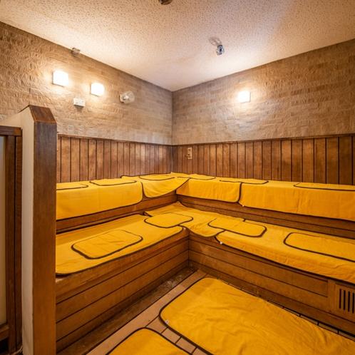 温泉:本館南大浴場「加宝の湯」サウナ風呂