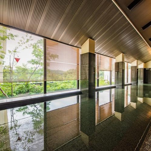 温泉:本館南大浴場「加宝の湯」内湯