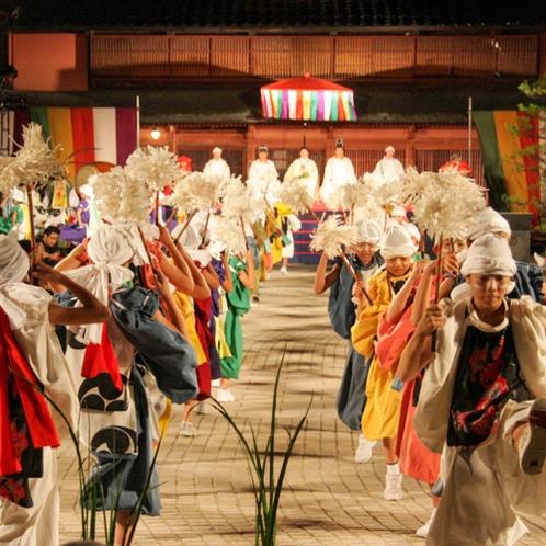山代温泉:山代大田楽(毎年夏に開催)