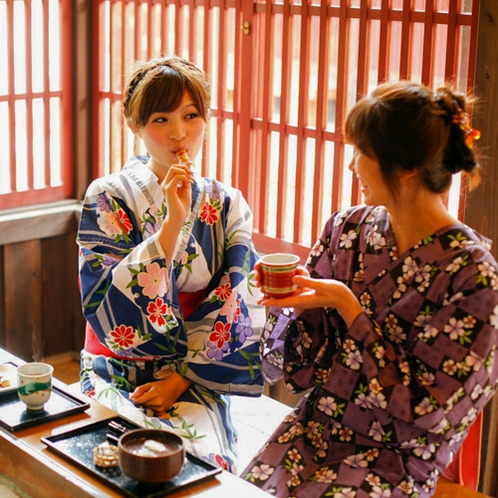 山代温泉:はづちを茶店