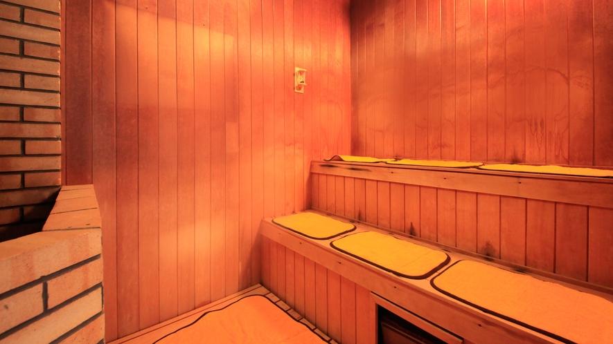 温泉:本館北大浴場「千代女の湯」サウナ風呂