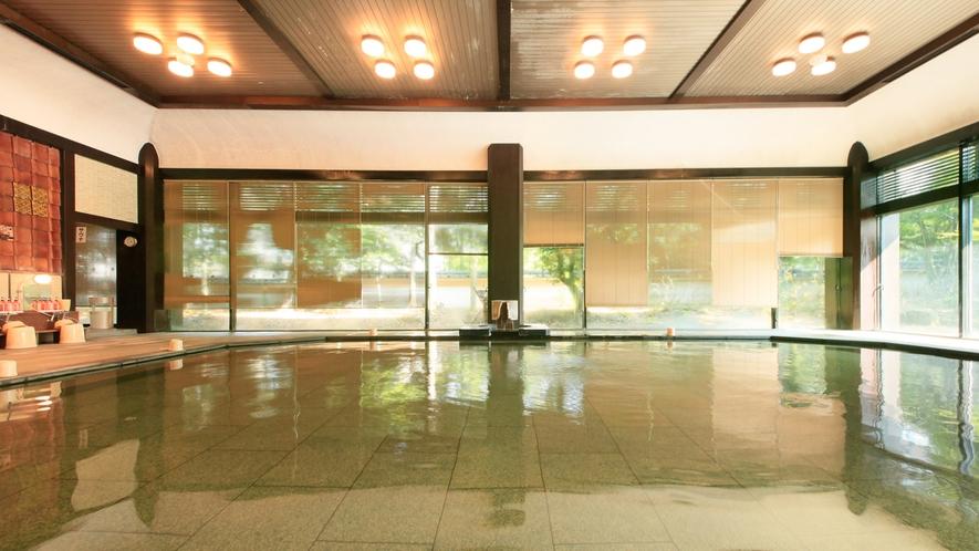 温泉:本館北大浴場「千代女の湯」内湯