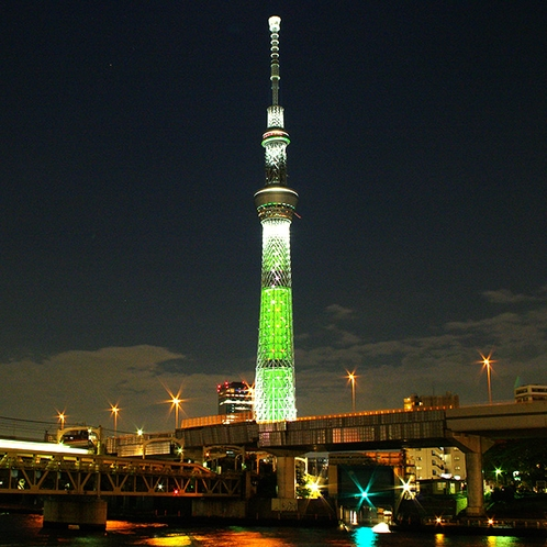 東京スカイツリー夜景※イメージ