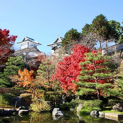 金沢城と兼六園※イメージ