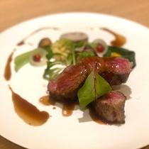 【肉料理】氷見牛のロティ