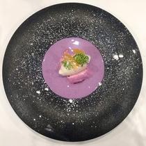 【ある日の逸品】dessert〜デザート〜紫芋のスープ