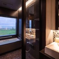 ■スイート和洋室 バスルーム