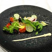 【前菜】的鯛のカルパッチョ