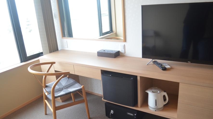 ■洋室のテレビまわり例