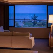 ■スイート和洋室 窓から海