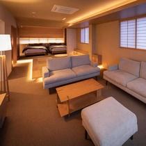 ■スイート和洋室 ゆったりソファー