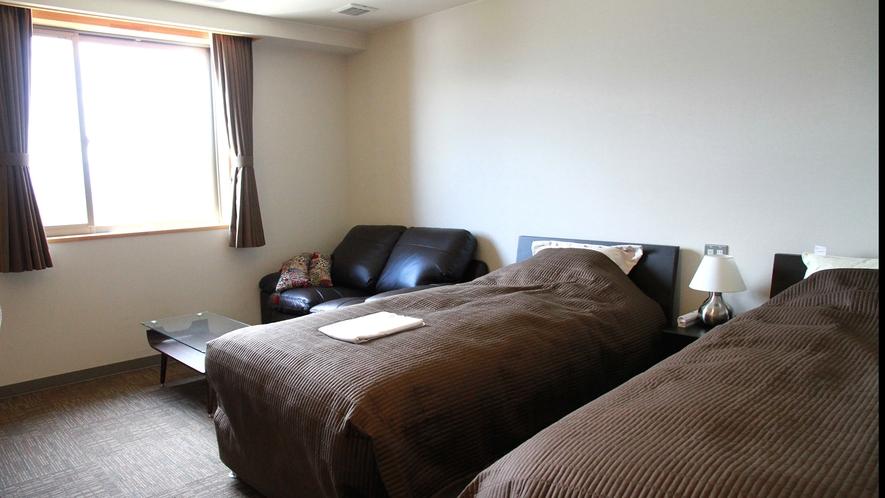 ・【眺めのいい洋室ツインDX】4階にあるお部屋です
