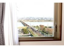 客室の窓から・・・
