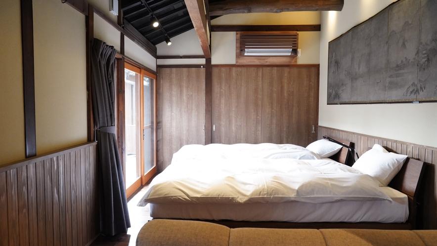 梅岩 寝室