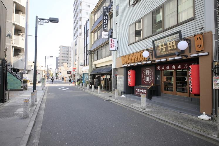 門前仲町駅からのアクセス④