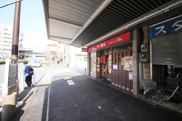 門前仲町駅からのアクセス③