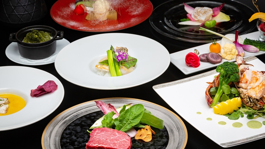 【鉄板焼】イメージ/特別な日にふさわしい琉球フレンチを五感で楽しむ鉄板焼。