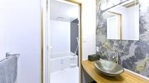 2階 朱の間 洗面台・バスルーム