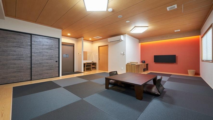 和室は最大6人まで宿泊可能です