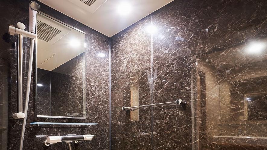和室シャワールーム マイクロバブルのシャワーで敏感肌の方も安心
