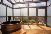 露天風呂付きの個室