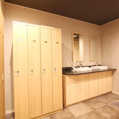 ■共有スペース/各客室階に設置しております。お気軽にご利用ください。