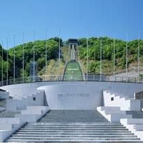 【周辺・札幌市内景色など】大倉山ジャンプ競技場
